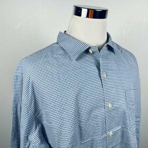 Polo Ralph Lauren 2XL Vintage Bonnard Shirt Blue